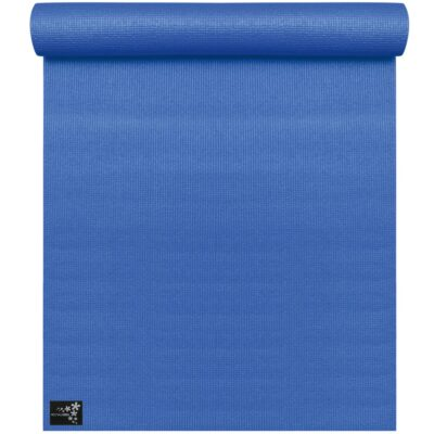 Yogamatte / Turnmatte basic ÜBERGRÖSSE 200cm (royal blue)