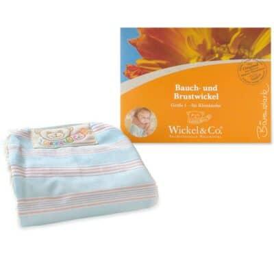 Woll-fühl Bauch- und Brustwickel (von Säugling bis zum Kleinkind)