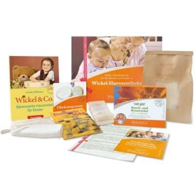 Geschenkpaket Wickel-Hausapotheke für Kinder
