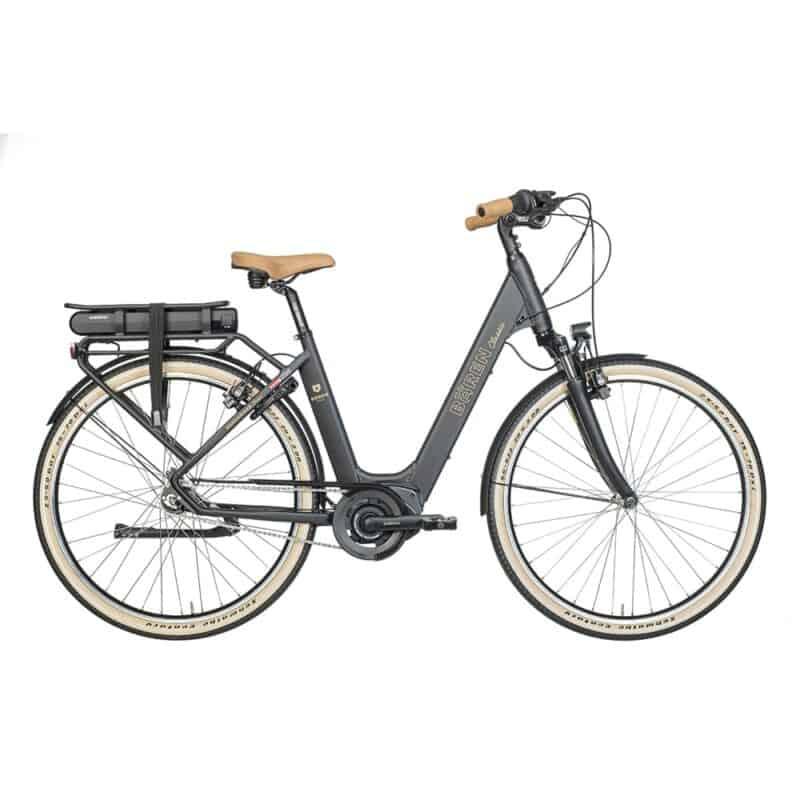 E-Citybike Baeren Retro 48cm charcol mustard