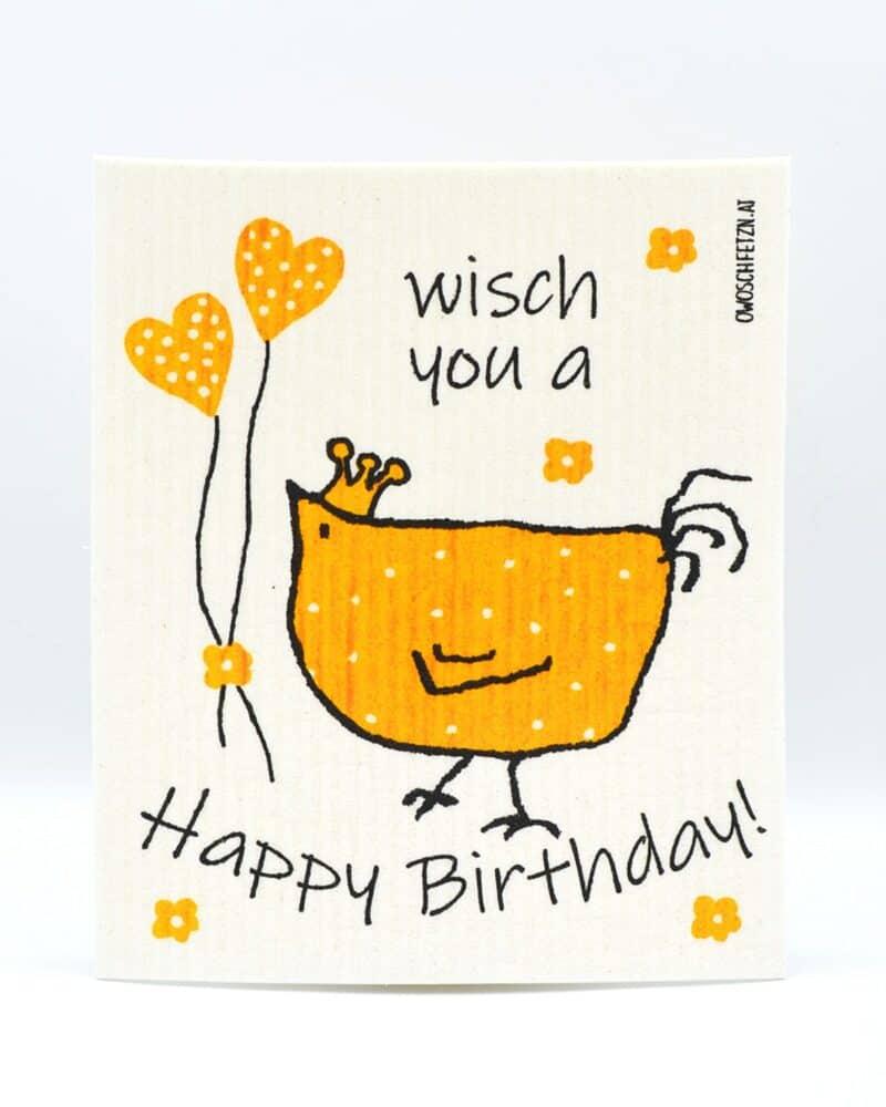 "Owoschfetzn ""Henne Berta - Happy Birthday"""