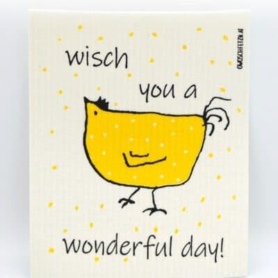 """Owoschfetzn """"Henne Berta - Wisch you a Wonderful Day"""""""