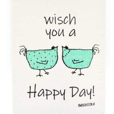 """Owoschfetzn """"Henne Berta - Wisch you a Happy Day"""""""