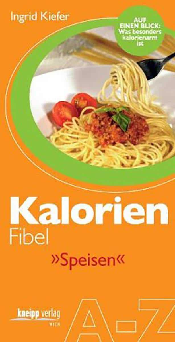 Buch Kalorien Fibel Speisen