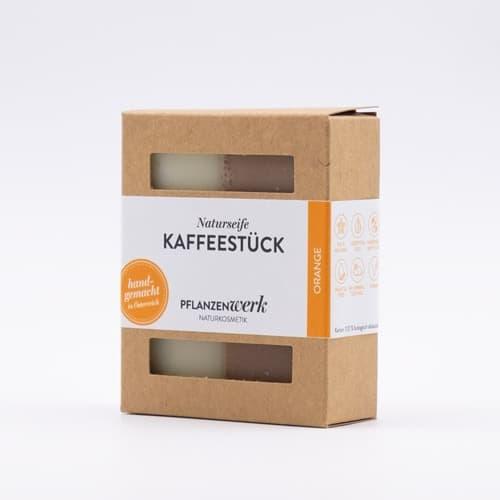 """Naturseife """"Kaffeestück"""""""
