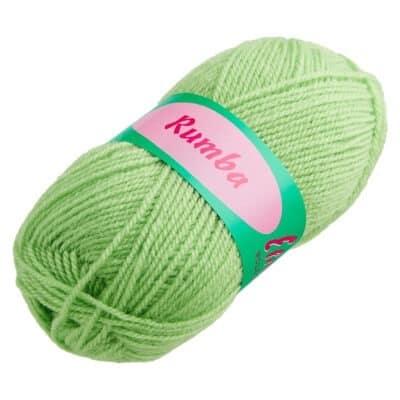 Rumba-Wolle hellgrün