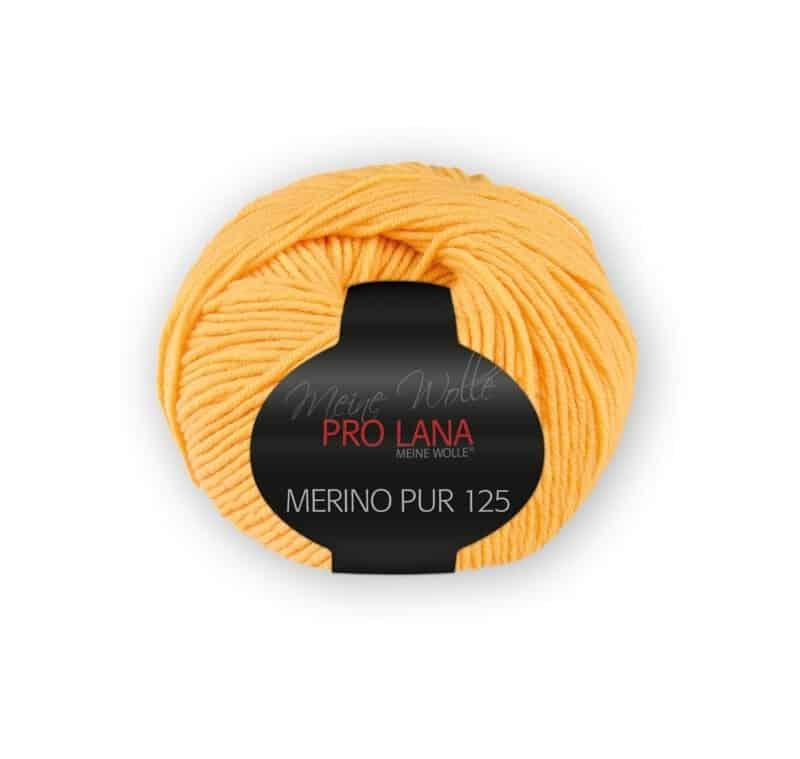 Merinowolle Pur 125 Goldgelb