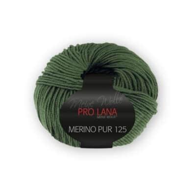 Merinowolle Pur 125 Tannengrün