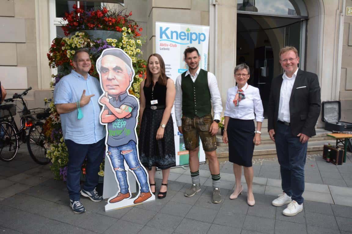 Vorstandsmitglieder bei der 50 Jahrfeier des KAC Leibnitz