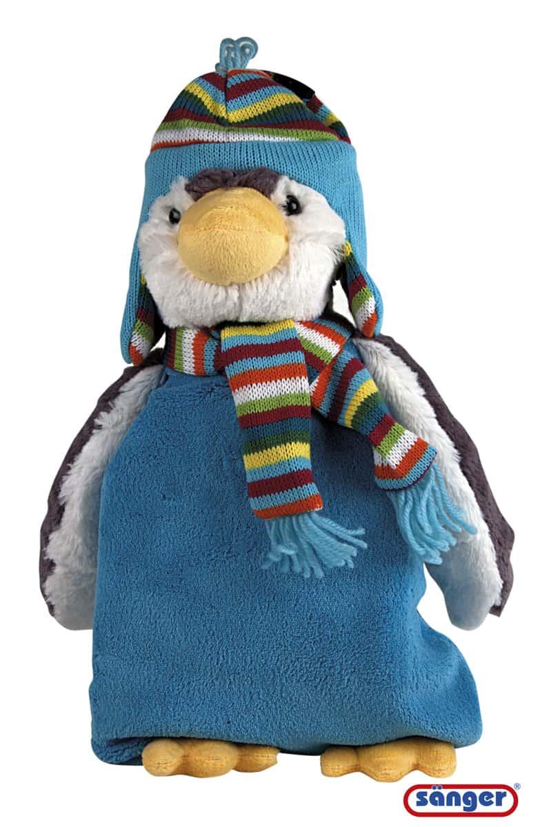 Wärmflasche-Plüschtier-Pinguin-Paul